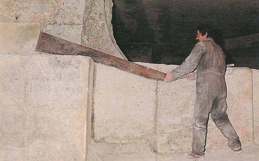 les-baux-worker-limestone